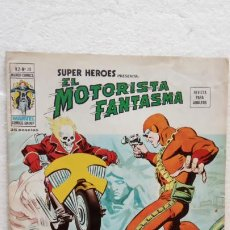Cómics: SUPER HÉROES Vº 2 Nº 28 EL MOTORISTA FANTASMA, CON UNA AVENTURA DE LA PANTERA NEGRA. Lote 240009830
