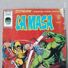 Comics: LA MASA VOLUMEN VOL. 3 VERTICE Nº 40 PRIMERA APARICIÓN DE LOBEZNO. Lote 240069230