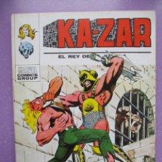 Cómics: KA ZAR Nº 7 VERTICE TACO KAZAR ¡¡¡¡¡EXCELENTE ESTADO!!!!. Lote 240540630
