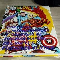 Cómics: LIBRO CON TODAS LAS PORTADAS DE LOS COMICS VERTICE DEL VOL.1 (MAS DE 950),CONTRAPORTADAS.160 PAGINAS. Lote 240558530