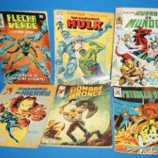 Cómics: COMICS VERTICE-AÑOS70/80-LOTE DE 6 COMICS VARIADOS-OBSERVA LOS TITULOS. Lote 240770205