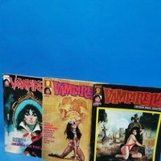 Cómics: LOTE 3 NUMEROS COMICS VAMPIRELLA Nº 2-5-7 BUEN ESTADO. Lote 240770775