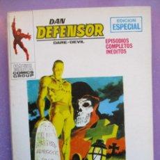 Cómics: DAN DEFENSOR Nº 22 VERTICE TACO ¡¡¡¡¡ MUY BUEN ESTADO!!!!. Lote 241136785