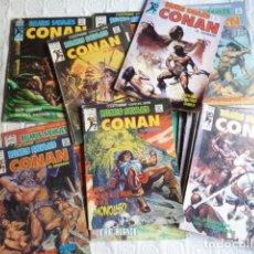 Cómics: LOTE 16 NÚMS DE CONAN-RELATOS ALVAJES. Lote 241224540