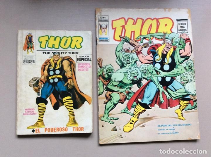 THOR COMPLETA VOLUMEN 1-2 (Tebeos y Comics - Vértice - Thor)