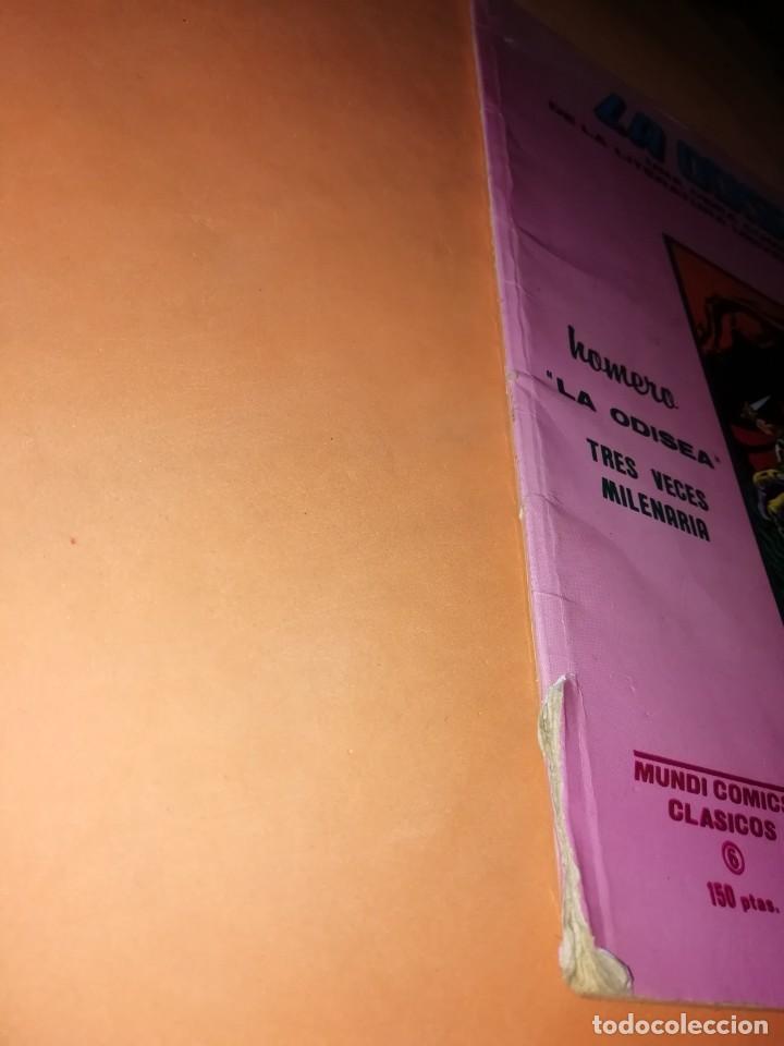 Cómics: LA ODISEA. MUNDI COMICS CLASICOS. EDICIONES VERTICE. - Foto 2 - 241665860