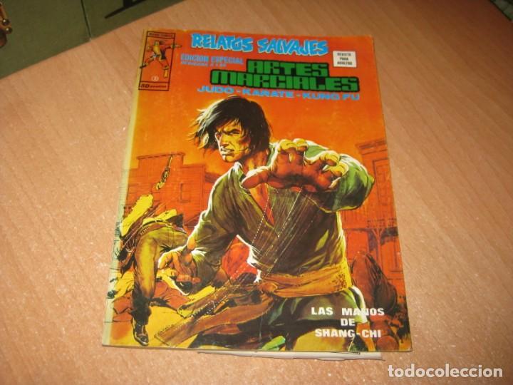 RELATOS SALVAJES EDICIÓN ESPECIAL ARTES MARCIALES (Tebeos y Comics - Vértice - Relatos Salvajes)