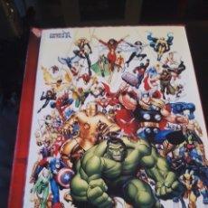 Comics: ALBUM FOTOGRAFICO PERSONALIZADO SUPERHEROES MIS PORTADAS VERTICE VOLUMEN 1. Lote 241801895