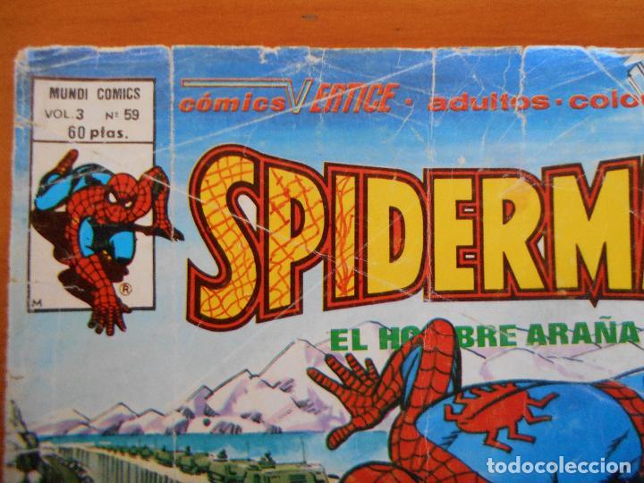 Cómics: SPIDERMAN EL HOMBRE ARAÑA VOL. 3 Nº 59 - MUNDI COMICS - VERTICE - LEER DESCRIPCION (L) - Foto 2 - 242081760