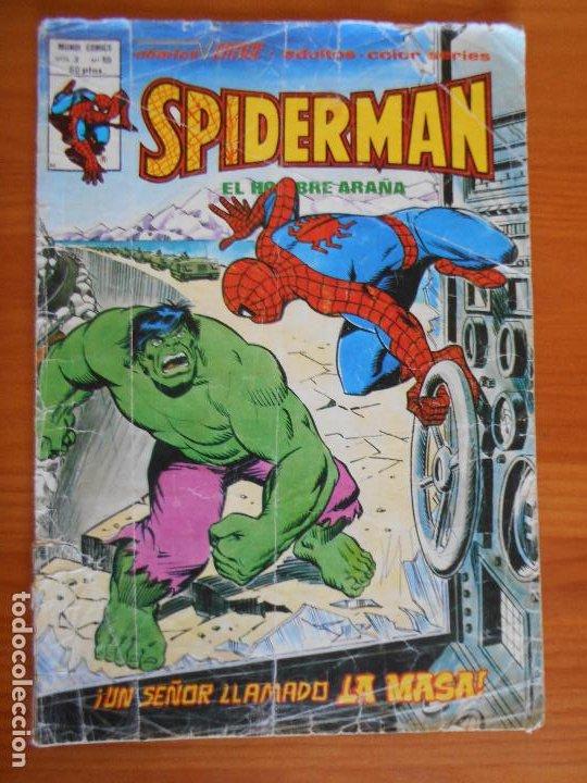 SPIDERMAN EL HOMBRE ARAÑA VOL. 3 Nº 59 - MUNDI COMICS - VERTICE - LEER DESCRIPCION (L) (Tebeos y Comics - Vértice - V.3)