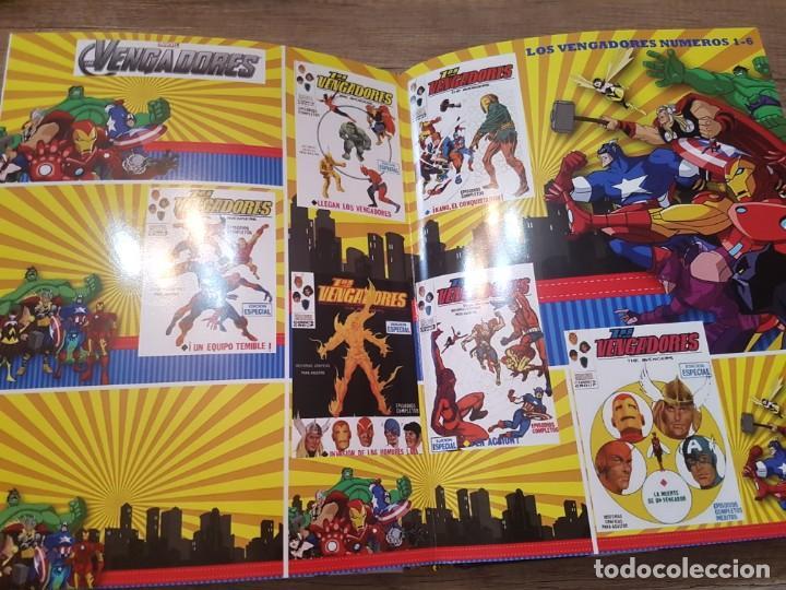 Cómics: ALBUM FOTOGRAFICO PERSONALIZADO SUPERHEROES MIS PORTADAS COMICS VERTICE - Foto 11 - 242121450