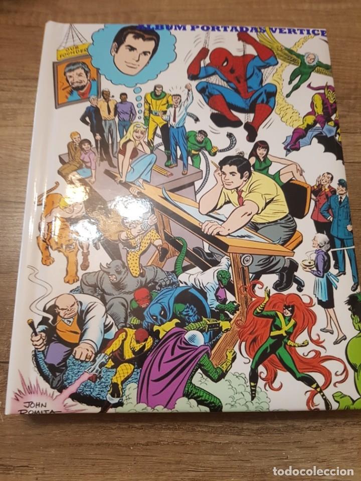 ALBUM FOTOGRAFICO PERSONALIZADO SUPERHEROES MIS PORTADAS COMICS VERTICE (Tebeos y Comics - Vértice - La Masa)