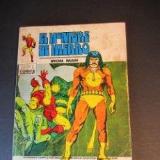 Cómics: IRON MAN (1969, VERTICE) -EL HOMBRE DE HIERRO- 27 · IX-1971 · RAGA, EL HIJO DEL FUEGO. Lote 242257310