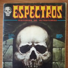 Cómics: ESPECTROS Nº 19 - HISTORIAS DE ULTRATUMBA - VERTICE 1973. Lote 242818910