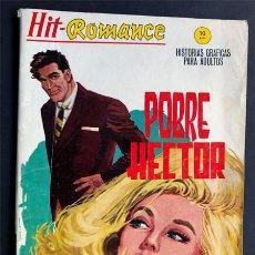 Cómics: HIT ROMANCE Nº 4 / POBRE HECTOR / VERTICE AÑO 1965. Lote 243026960