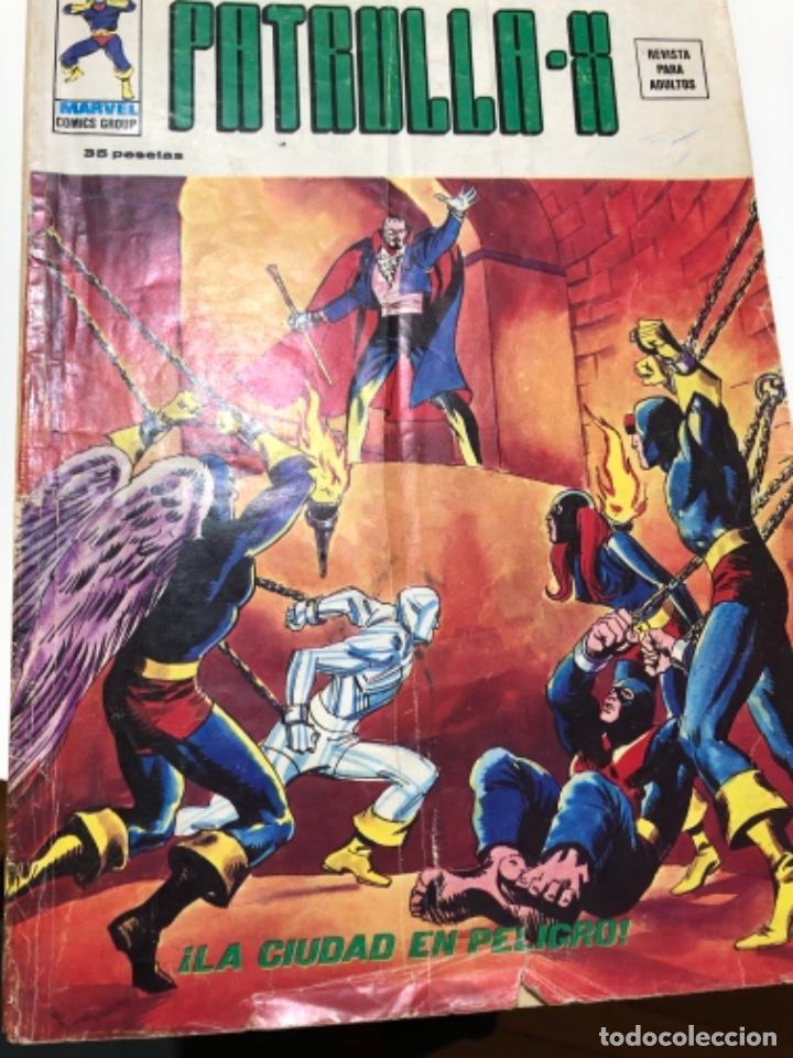 PATRULLA-X (Tebeos y Comics - Vértice - Patrulla X)