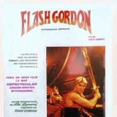 Cómics: FLASH GORDON SUPREMACIA ESPACIAL EDICION GRAFICA DE LA PELICULA, EDICIONES VERTICE 1980 BUENO. Lote 243253050
