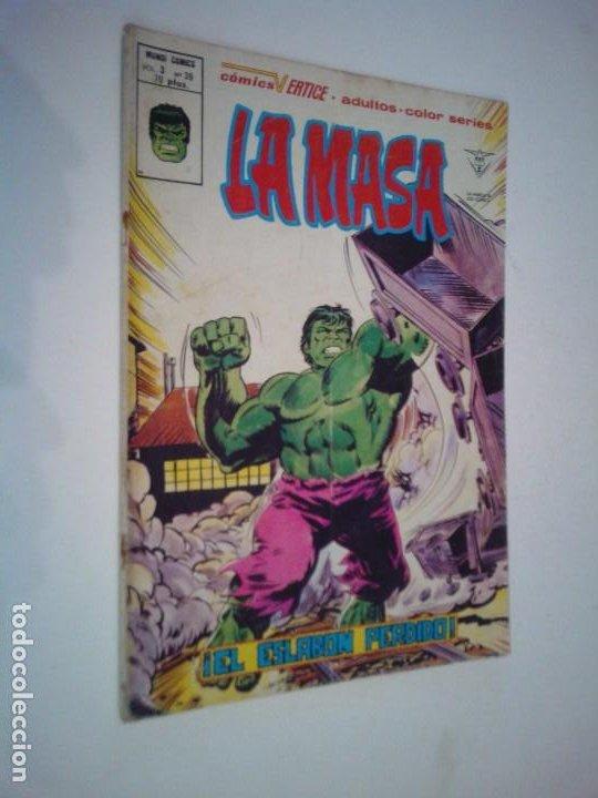LA MASA - VERTICE - VOLUMEN 3 - NUMERO 39 - GORBAUD (Tebeos y Comics - Vértice - La Masa)