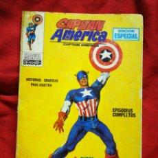 Comics: CAPITAN AMERICA- EDICIONES VÉRTICE- N°1(MARVEL, COMICS GROUP), 1°EDICION ESPECIAL, TACO. 1969.. Lote 262762330