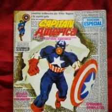 Cómics: CAPITAN AMERICA- EDICIONES VÉRTICE- N°3(MARVEL, COMICS GROUP), 1°EDICION ESPECIAL, TACO. 1969.. Lote 243629495