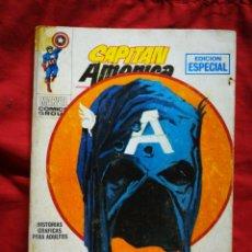 Cómics: CAPITAN AMERICA- EDICIONES VÉRTICE- N°4(MARVEL, COMICS GROUP), 1°EDICION ESPECIAL, TACO. 1969.. Lote 243630260