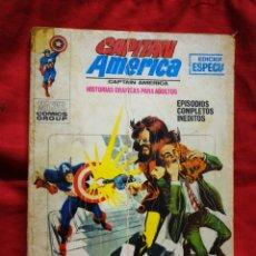 Cómics: CAPITAN AMERICA- EDICIONES VÉRTICE- N°8 (MARVEL, COMICS GROUP), 1°EDICION ESPECIAL, TACO. 1970.. Lote 243632900
