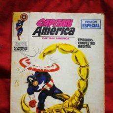 Cómics: CAPITAN AMERICA- EDICIONES VÉRTICE- N°9 (MARVEL, COMICS GROUP), 1°EDICION ESPECIAL, TACO. 1970.. Lote 243634070