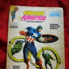 Cómics: CAPITAN AMERICA- EDICIONES VÉRTICE- N°10 (MARVEL, COMICS GROUP), 1°EDICION ESPECIAL, TACO. 1970.. Lote 243634955