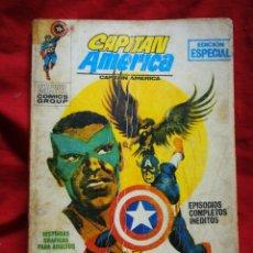 Cómics: CAPITAN AMERICA- EDICIONES VÉRTICE- N°11 (MARVEL, COMICS GROUP), 1°EDICION ESPECIAL, TACO. 1970.. Lote 243638175
