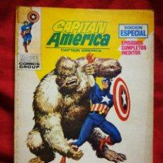 Cómics: CAPITAN AMERICA- EDICIONES VÉRTICE- N°17 (MARVEL, COMICS GROUP), 1°EDICION ESPECIAL, TACO. 1971.. Lote 243640280