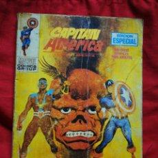 Cómics: CAPITAN AMERICA- EDICIONES VÉRTICE- N°21 (MARVEL, COMICS GROUP), 1°EDICION ESPECIAL, TACO. 1972.. Lote 243641420
