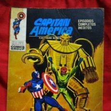 Cómics: CAPITAN AMERICA- EDICIONES VÉRTICE- N°24 (MARVEL, COMICS GROUP), 1°EDICION ESPECIAL, TACO. 1972.. Lote 243643120
