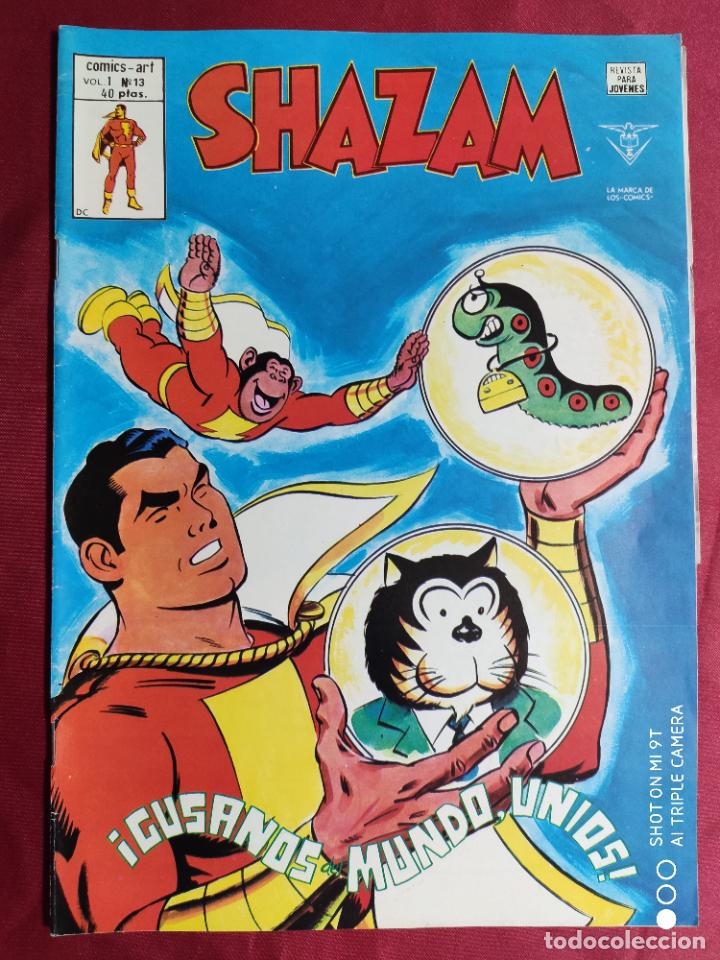 SHAZAM VOL. 1. Nº 13. EDICIONES VERTICE (Tebeos y Comics - Vértice - Otros)