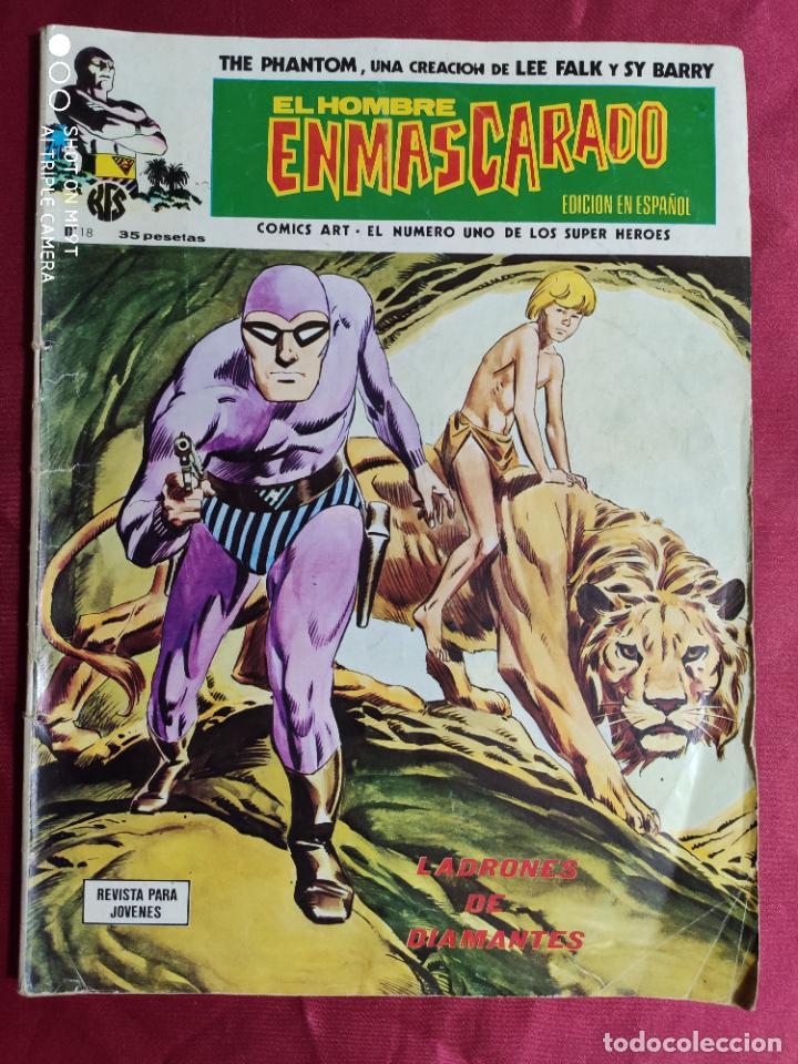 EL HOMBRE ENMASCARADO. VOL. 1. Nº 18. EDICIONES VERTICE (Tebeos y Comics - Vértice - Hombre Enmascarado)