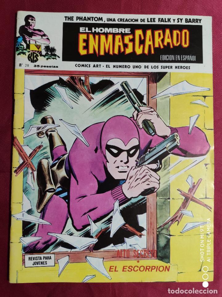 EL HOMBRE ENMASCARADO. VOL. 1. Nº 28. EDICIONES VERTICE (Tebeos y Comics - Vértice - Hombre Enmascarado)