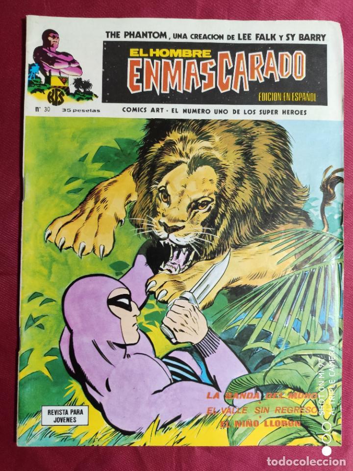 EL HOMBRE ENMASCARADO. VOL. 1. Nº 30. EDICIONES VERTICE (Tebeos y Comics - Vértice - Hombre Enmascarado)