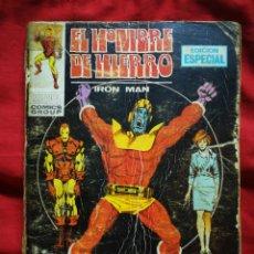 Cómics: EL HOMBRE DE HIERRO (IRON MAN)-EDICIONES VÉRTICE, N°5 (MARVEL,COMICS GROUP)1°ED. ESPECIAL, TACO.1969. Lote 243780590
