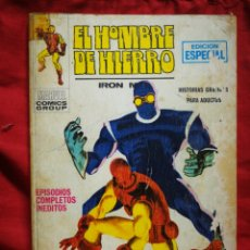 Cómics: EL HOMBRE DE HIERRO (IRON MAN)-EDICIONES VÉRTICE, N°6 (MARVEL,COMICS GROUP)1°ED. ESPECIAL, TACO.1970. Lote 243781210
