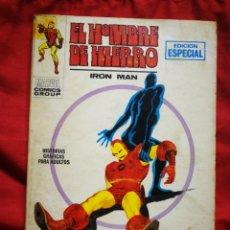 Cómics: EL HOMBRE DE HIERRO (IRON MAN)-EDICIONES VÉRTICE, N°8 (MARVEL,COMICS GROUP)1°ED. ESPECIAL, TACO.1970. Lote 243783720