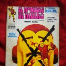 Cómics: EL HOMBRE DE HIERRO (IRON MAN)-EDICIONES VÉRTICE, N°9 (MARVEL,COMICS GROUP)1°ED. ESPECIAL, TACO.1970. Lote 243786820