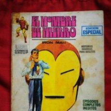 Cómics: EL HOMBRE DE HIERRO (IRON MAN)-EDICIONES VÉRTICE, N°12(MARVEL,COMICS GROUP)1°ED. ESPECIAL, TACO.1970. Lote 243788385
