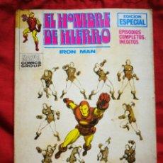 Cómics: EL HOMBRE DE HIERRO (IRON MAN)-EDICIONES VÉRTICE, N°15(MARVEL,COMICS GROUP)1°ED. ESPECIAL, TACO.1971. Lote 243791675