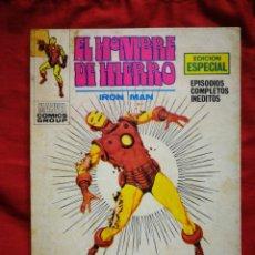 Cómics: EL HOMBRE DE HIERRO (IRON MAN)-EDICIONES VÉRTICE, N°16(MARVEL,COMICS GROUP)1°ED. ESPECIAL, TACO.1971. Lote 243792195
