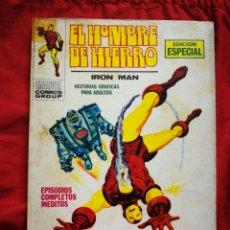 Cómics: EL HOMBRE DE HIERRO (IRON MAN)-EDICIONES VÉRTICE, N°17(MARVEL,COMICS GROUP)1°ED. ESPECIAL, TACO.1971. Lote 243793430