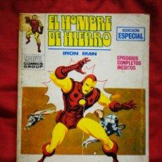 Cómics: EL HOMBRE DE HIERRO (IRON MAN)-EDICIONES VÉRTICE, N°18(MARVEL,COMICS GROUP)1°ED. ESPECIAL, TACO.1971. Lote 243793900