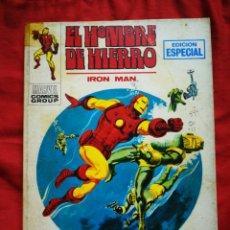 Cómics: EL HOMBRE DE HIERRO (IRON MAN)-EDICIONES VÉRTICE, N°19(MARVEL,COMICS GROUP)1°ED. ESPECIAL, TACO.1971. Lote 243794205