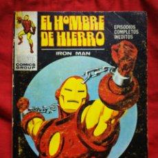 Cómics: EL HOMBRE DE HIERRO (IRON MAN)-EDICIONES VÉRTICE, N°24(MARVEL,COMICS GROUP)1°ED. ESPECIAL, TACO.1972. Lote 243796730