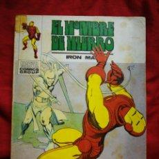Cómics: EL HOMBRE DE HIERRO (IRON MAN)-EDICIONES VÉRTICE, N°32(MARVEL,COMICS GROUP)1°ED. ESPECIAL, TACO.1973. Lote 243797795