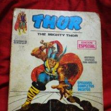 Cómics: THOR -EDICIONES VÉRTICE, N°3 (MARVEL,COMICS GROUP)1°ED. ESPECIAL, TACO.1970. Lote 243803005