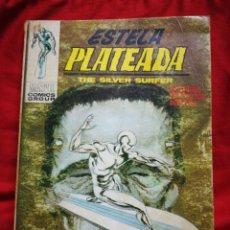 Cómics: ESTELA PLATEADA (SILVER SURFER)-EDICIONES VÉRTICE, N°7(MARVEL,COMICS GROUP)1°ED. ESPECIAL, TACO.1972. Lote 243807095